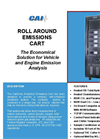 Mobile Source Emissions (Roll Around Emissions Cart) Specification Sheets (PDF 650 KB)