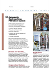 Rosedale - Backwashing Automatic System - Brochure