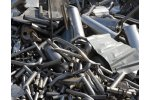 On-site analysis of scrap metal for sorting in the metal recyling industry