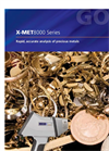 Model X-MET8000 - Precious Metals and Jewellery Analyzer - Brochure