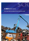 X-MET8000 Series Sort Scrap Metal Accurately, Fast and Maximise Profts - Brochure