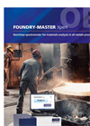 FOUNDRY-MASTER - Stationary Optical Emission Spectrometers Brochure