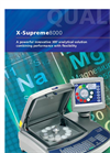 X-Supreme - Model 8000 - Benchtop XRF Analyser Brochure