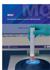 Model MQC - Benchtop NMR Analyser Brochure