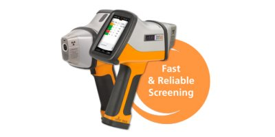 Oxford Instruments - Model X-MET8000CG - Handheld XRF Analyser for Regulatory Compliance Screening