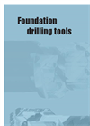Foundation Drilling Tools - Product catalogue Brochure