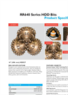 Horizontal Direction Drilling (HDD) bits - HDX37_16.0 Brochure