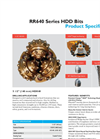 Horizontal Direction Drilling (HDD) bits - HDX40_5.50 Brochure