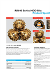 Horizontal Direction Drilling (HDD) bits - HDX40_12.25 Brochure