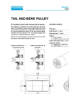 Light Duty Dead Shaft Pulley – Specification