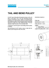 Medium Duty Dead Shaft Pulley – BP – Specification