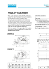 Pulley Cleaners – Specification