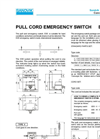 Emergency Devices – ES 5-2 – Specification