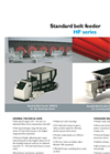 HF-Series - Silo Discharge Belt Feeders – Datasheet