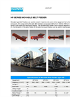 HF-Series - Movable Belt Feeders – Specification