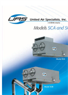 Model SCA & SCB - Ceiling Mount Cartridge Dust Collectors Brochure