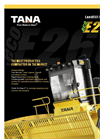 TANA - Model E260eco - Landfill Compactor (Tier 4 Final) - Brochure