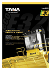 TANA - Model E320eco - Landfill Compactor (Tier 4 Final) - Brochure