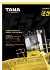 TANA - Model E520eco - Landfill Compactor (Tier 4 Final) - Brochure