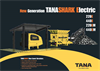 TANA Shark 220E & 440E Electric Shredder Brochure