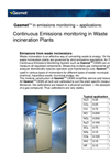 Continuous Emissions Monitoring in Waste Incineration Plants (Application Note)