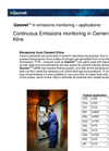 Continuous Emissions Monitoring in Cement Kilns(Application Note)
