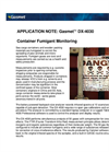 Cargo Container Fumigation (Application Note)