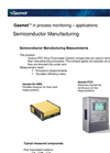 Semiconductor Manufacturing Monitoring (Application Note)