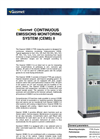 Gasmet - Model CEMS II - Continuous Emissions Monitoring System Datasheet