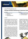 Fluoride Emissions Monitoring in Aluminum Smelters - Application Note