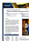 Continuous emissions monitoring in cement kilns - application note