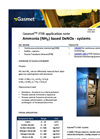 Ammonia (NH𝟑) based DeNOx - systems - application note