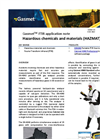 Hazardous chemicals and materials (HAZMAT) - application note