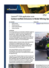 Carbon sulfide emissions in nickel mining operations - application note
