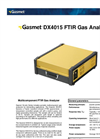 Gasmet - Model DX-4015 - Portable FTIR Gas Analyzer Datasheet