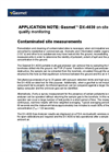 Contaminated Ground Measurements Application Note Brochure