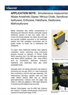 Anesthetic Gases Monitoring Application Note Brochure