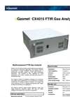 Gasmet - Model CX4015 - Multicomponent FTIR Gas Analyzer Datasheet