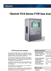 Gasmet - Model FCX-Series - FTIR Process Gas Analyzer Datasheet