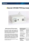 Gasmet - Model CR1000 - Multicomponent FTIR Gas Analyzer Datasheet