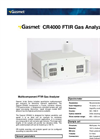 Gasmet CR4000 Multicomponent FTIR Gas Analyzer Technical Data