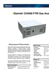 Gasmet CX4000 Multicomponent FTIR Gas Analyzer Technical Data
