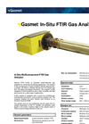Gasmet In-Situ Multicomponent FTIR Gas Analyser Technical Data
