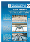Aqua Turbo - Model AER-AS - Floating High Speed Surface Aerator Brochure