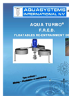 Aqua Turbo - Model FRED - Floatables Re-Entrainment Device Brochure