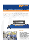 Centrisys - Dewatering Systems Brochure