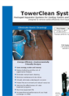 TowerClean - System For Cooling Tower Cleaning Brochure