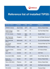 Reference List of Installed TiPSS Units
