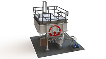 TiPSS - Model DAF - Dissolved Air / Gas Flotation System