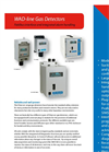 TX - WAD - Diffusion Type Gas Detector Brochure